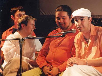 Сурганова и Оркестр в клубе Б2, презентация альбома «Неужели не я», 21 июня 2003